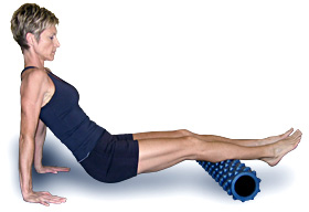 foam-roller-calf-exercise