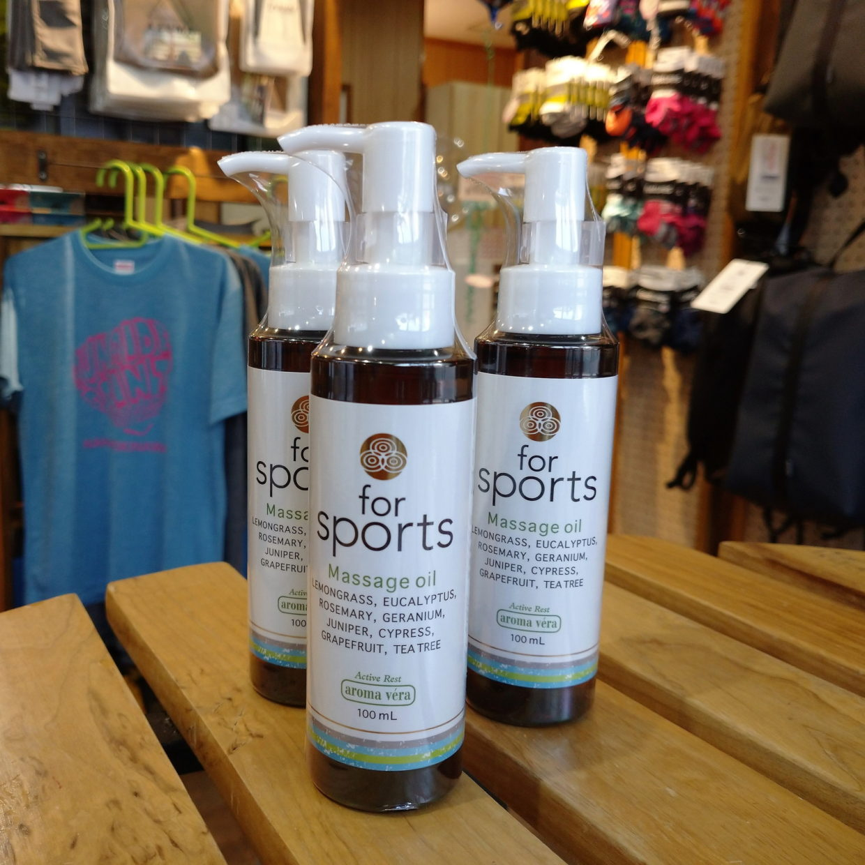 aroma vera aroma massage oil for sports